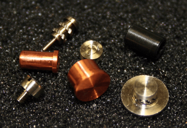 Screw Machine Monel Copper components
