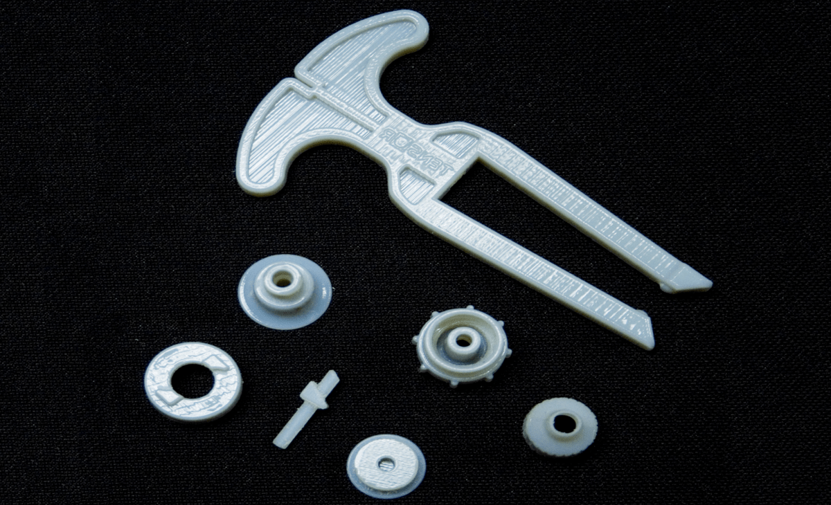 Assorted 3D printed- Parts-sized
