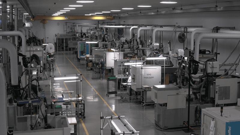 Custom molding facility